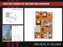 P2 - Tầng 39 Chung cư Golden Millennium Trần Phú