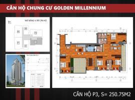 P3 - Tầng 39 Chung cư Golden Millennium Trần Phú