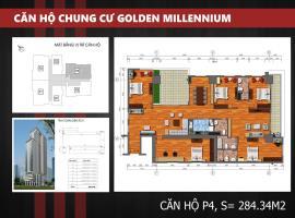 P4 - Tầng 39 Chung cư Golden Millennium Trần Phú