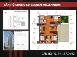 P5 - Tầng 38 Chung cư Golden Millennium Trần Phú