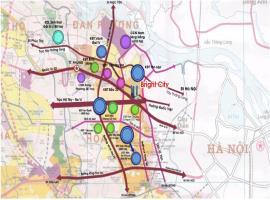 Vị trí dự án chung cư AZ Thăng Long