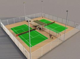 Hệ thống sân Tennis hiện đại