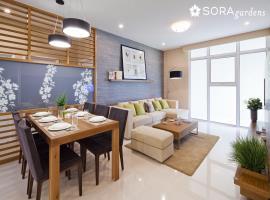 Phòng ăn căn hộ chung cư Sora gardens