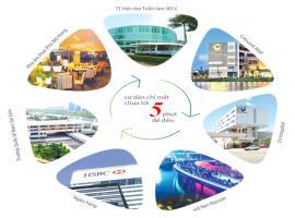 Liên kết khu vực tại dự án Saigon Plaza tower