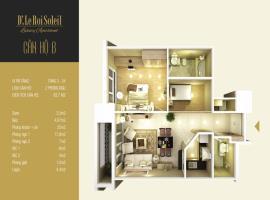 Tòa A căn 05 Tầng 12-19 tầng 11 Chung cư D.' Le Roi Soleil - Tầng: 11