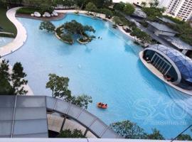 Bể bơi chung cư Vinhome Trần Duy Hưng