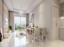 Phối cảnh căn hộ 3 phòng ngủ dự án Vinhomes Trần D