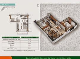 Bán căn hộ A02 Chung cư Xuân Mai Sparks Tower tầng 16 - Tầng: 16