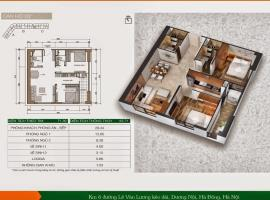 Bán căn B12 Chung cư Xuân Mai Spark Tower - Tầng: 24