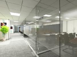 Khu hành lang văn phòng cao cấp chung cư Cầu Tiên