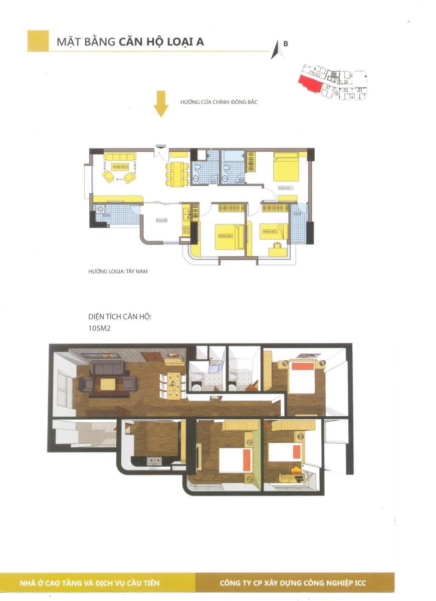 CH- A tầng 15-Chung cư Cầu Tiên