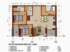 Căn hộ 87m2 chung cư 283 Khương Trung