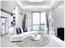 Phòng khách chung cư 283 Khương Trung