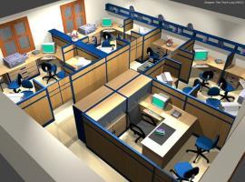 Văn phòng trong chung cư 283 Khương Trung