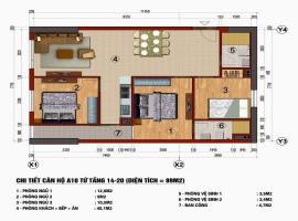 Căn hộ A10 chung cư 289 Khương Trung