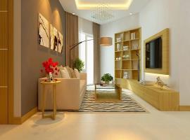 Phòng khách căn hộ Luxcity