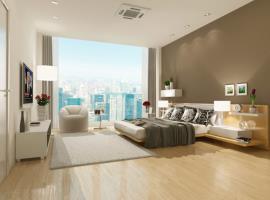 Nội thất phòng ngủ chung cư Artemis Lê Trọng Tấn