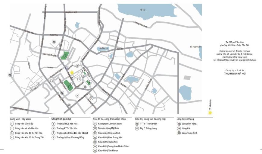 Chung cư Yên Hòa Condominium tại ngõ 259 Yên Hòa