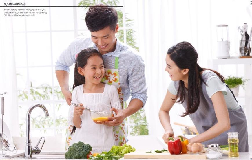 Cuộc sống tiện nghi và hiện đại chung cư Yên Hòa