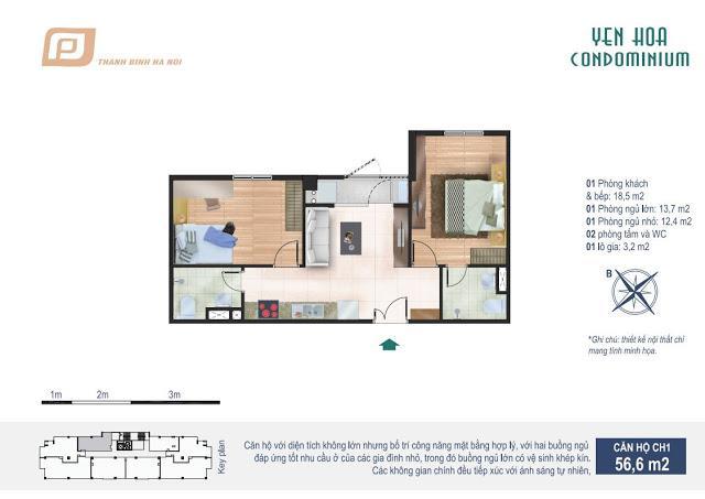 CH1 Chung cư Yên Hòa Condominium