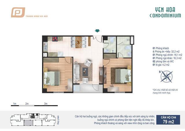 CH4 Chung cư Yên Hòa Condominium