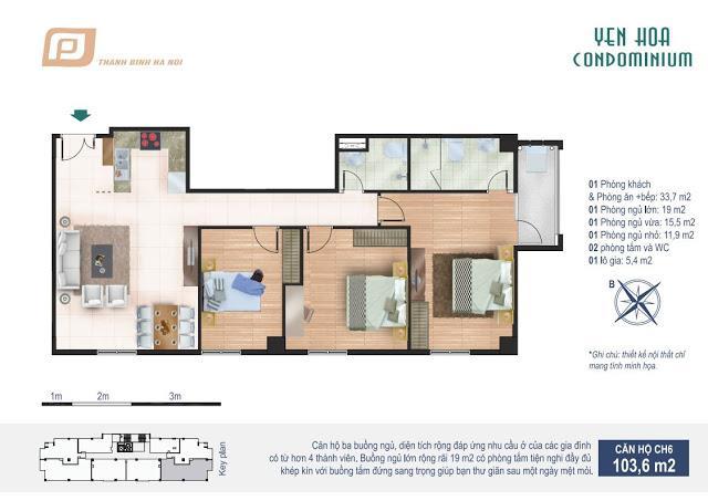 CH6 Chung cư Yên Hòa Condominium