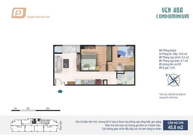 CH8 Chung cư Yên Hòa Condominium