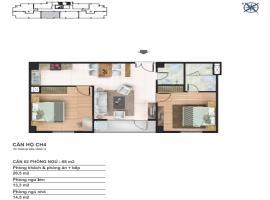 CH5 Chung cư Yên Hòa Condominium - Tầng: 10