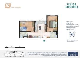 CH1 tầng 4-Chung cư Yên Hòa Condominium - Tầng: 4