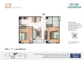 CH4 tầng 4-Chung cư Yên Hòa Condominium - Tầng: 4