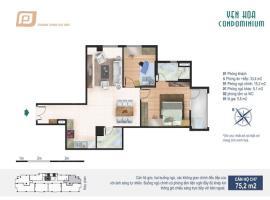 CH7 tầng 4-Chung cư Yên Hòa Condominium - Tầng: 4