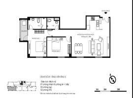 Căn hộ 03 tầng 8-12
