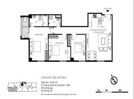Căn hộ 03  tầng 2-7