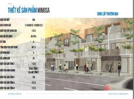 Biệt thự Mimosa Valley lô Song lập thương mại 175A-284.8-T