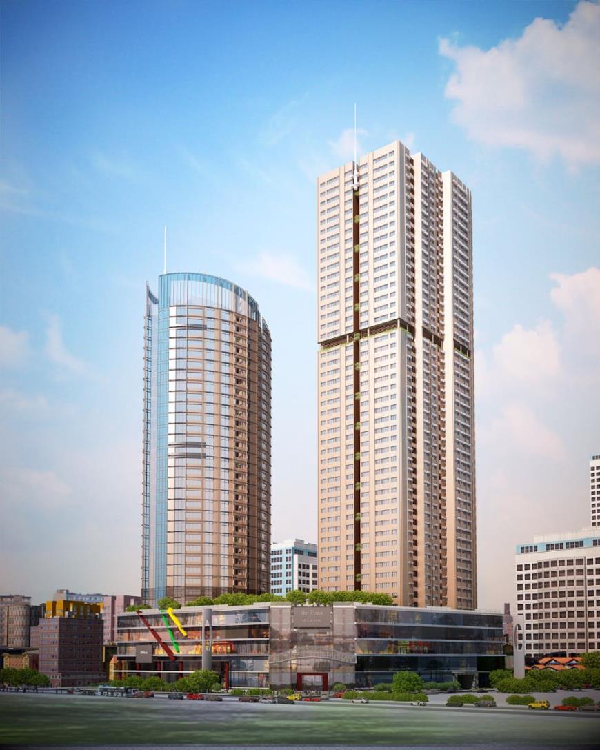Phối cảnh dự án FLC Twin Towers