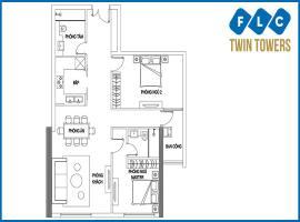 Bán căn A-05 FLC Twin Towers 265 Cầu Giấy - Tầng: 10