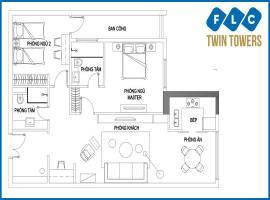 Bán căn C-03 FLC Twin Towers 265 Cầu Giấy - Tầng: 10
