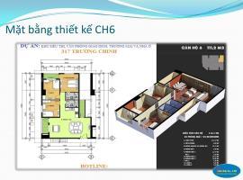 Bán Căn Hộ CH6 Chung Cư 317 Trường Chinh - Tầng: 10