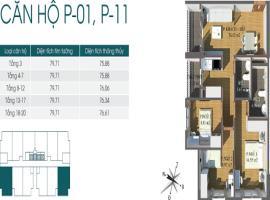 Bán căn số 01 tầng 8 Chung cư Packexim 2 - Tầng: 8