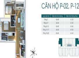 Bán căn số 02 tầng 8 Chung cư Packexim 2 - Tầng: 8