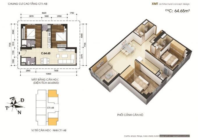 Bán căn 07 Tòa A tầng 15-Chung cư Mễ Trì Plaza
