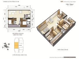 Căn hộ 72m2 chung cư Mễ trì Plaza