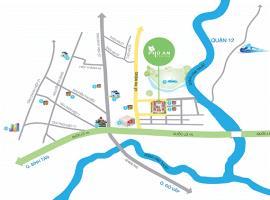 Vị trí căn hộ Phú An Centre