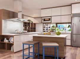Phòng bếp căn hộ Phú An Centre