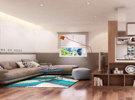 Phòng khách căn hộ Phú An Centre