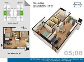 06 Tháp B tầng 12-Chung cư Tứ Hiệp Plaza - Tầng: 12