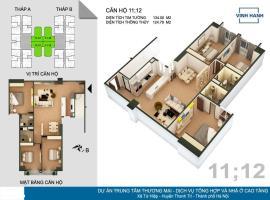 12 Tháp B tầng 15-Chung cư Tứ Hiệp Plaza - Tầng: 15