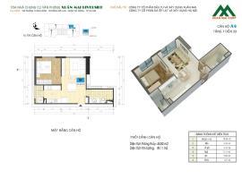 Căn A4 tầng 8 Chung cư Xuân mai Riverside - Tầng: 8