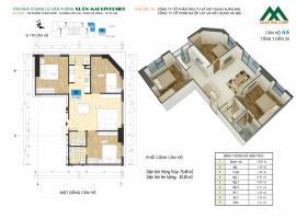 Căn A5 tầng 8 Chung cư Xuân mai Riverside - Tầng: 8