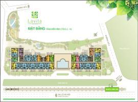 Mặt bằng tầng điển hình căn hộ Laviat Garden